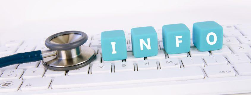 Medizin, Stethoskop, Tastatur